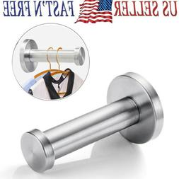 1/6Pcs Stainless Steel Towel Hook Kitchen Wall Mount Robe Ke
