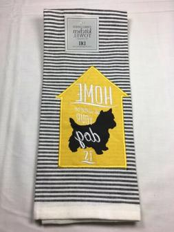 DII 100% Cotton Kitchen Towels Home Is Where Your Dog Is 18