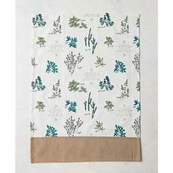 100% Cotton Set Of 2 Kitchen Towels, 20 - Inch By 27.5 Verdu