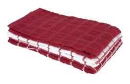 Ritz 100% Cotton Terry Kitchen Dish Towels, Highly Absorbent