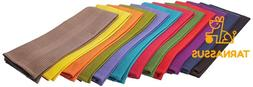Cotton Craft 12 Pack Multicolor Kitchen Towels 16X28 Inches-