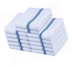Utopia Towels 12- Pack White 100% Cotton Kitchen 15 x 25 inc