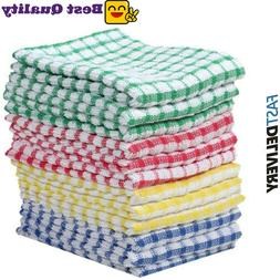 12 pieces dish towel 100 percent cotton