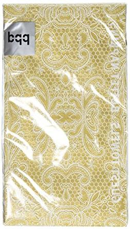 Paperproducts Designs 1411051 15-Pack Lace Royal Elegant Gue