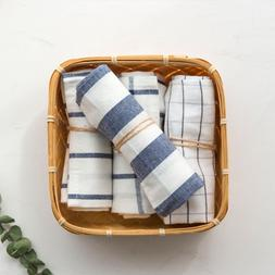 1piece high quality Blue white check striped tea <font><b>to