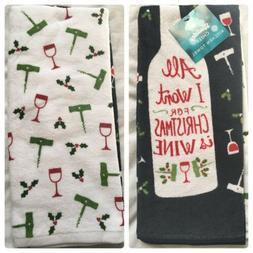 2 Kitchen Hand Dish Towels, RIP Diet, Halloween Candy $13 Fu