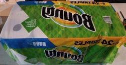 2 Pack  Bounty Paper Towels, Select-A-Size Triple Roll 8 per