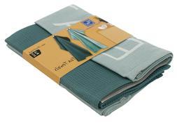 2 Pack Kitchen Towels Set Cotton Dish Cloths Tea Towel Washc