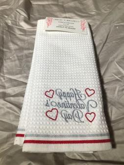 2 pack valentine heart kitchen dish hand