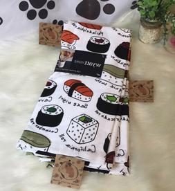2 PCS SET SUSHI 🍣 ROLLS  Kitchen Towels Set Of TWO. By Wy