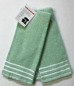 KitchenAid 2 Pk 100% Cotton Terry Kitchen Dish Towels - Pist