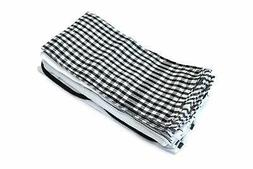 20 pcs 100 percent cotton kitchen towels
