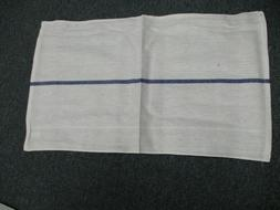 24 pack kitchen dish towels white blue