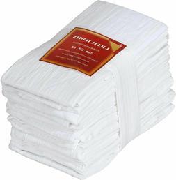 "28 x 28 "" Flour Sack Towels Cotton Absorbent Utopia Kitchen"