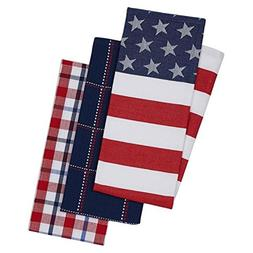 Design Imports 3 Stars and Stripes Kitchen Dishtowels perfec