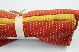 Thyme & Sage FALL/AUTUMN Pick Stitch Kitchen Dish Towels Go