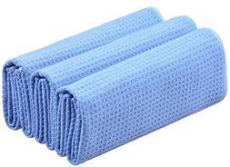 SINLAND 320gsm Waffle Weave Towel Microfiber Kitchen Towels