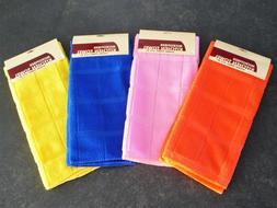4 BRIGHT Towels U PICK Colors Microfiber Bar Mop Kitchen Tow