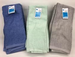 "Room Essentials - 4 Pack - Kitchen Towels - 15"" x 25"" - Blue"