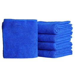 5/10pcs Water Absorption Waffles Microfiber Cleaning Cloths