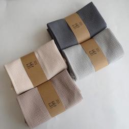5PCS <font><b>Table</b></font> Napkin waffle Cotton embroide