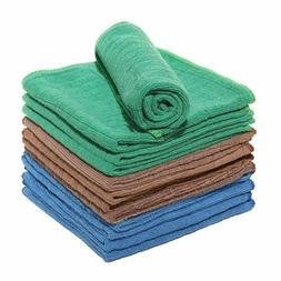 6 12 PCS Kitchen Dish cloth Dish Towels Ultra absorbent Quic