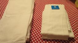7 Essential Home Flour Sack Dish Towels 28 X 29 Large Cotton