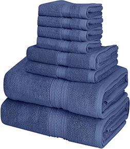 Utopia Towels Premium 700 GSM 8 Piece Towel Set; 2 Bath Towe
