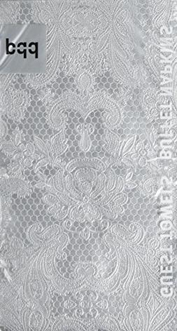Paperproducts Designs 7314 15-Pack Lace Royal Elegant Guest