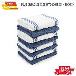 Sticky Toffee 8 Pack Cotton Terry Kitchen Quality Dishcloth