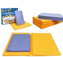 8 piece set super absorbent towels wiping