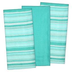 DII Cotton Pre Shrunk Urban Stripe Dish Towels, 20x30 Set of