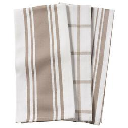 KAF Home Centerband/Basketweave/Windowpane Kitchen Towels, S