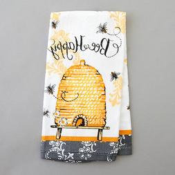 Kay Dee Designs Cotton Terry Towel, 16 by 26-Inch, Queen Bee