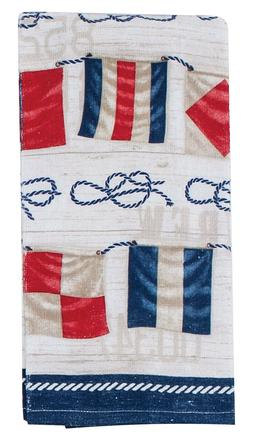 Kay Dee Designs NAUTICAL FLAGS Cotton Terry Cloth Kitchen To