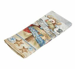 Kay Dee Designs R2930 Beach Signs Coastal Terry Towel