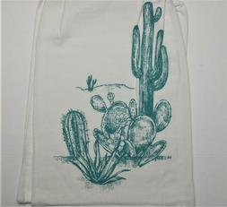 Kay Dee Designs Southwest Craze CACTUS 100% Cotton Flour Sac