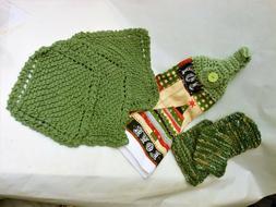 Kitchen Assortment/1 Xmas Towel, 3 Cotton Dish Clothes, 5 Sc
