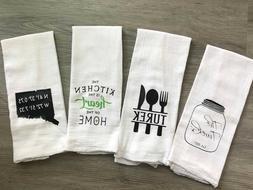 Kitchen flour sack towel, tea towels, kitchen decor