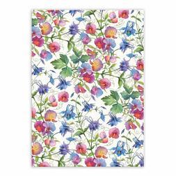 Michel Design Works Cotton Kitchen Tea Towel SWEET PEA Flora