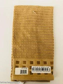 NEW Ritz Essential Solid Color Kitchen Towel, Toffee Brown,