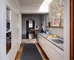 Ottomanson Ottohome Collection Solid Design Hallway Kitchen