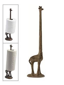 Paper Towel Holder or Free Standing Toilet Paper Holder- Cas