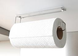 Plew Plew Kitchen Roll Holder, Paper Towel Stand, Stainless