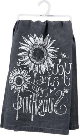 "Primitives by Kathy 26885 Chalk Dish Towel, 28"" x 28"", You A"