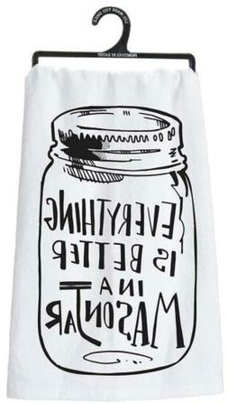 Primitives by Kathy Tea Towel - Everything Is Better in a Ma