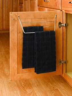 Rev-A-Shelf Door Storage Towel Holder - Chrome Wire