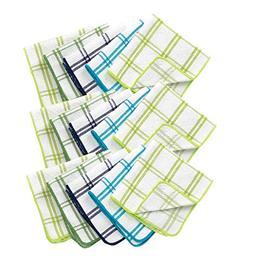Ritz 100% Cotton 12-inch x 12-inch Kitchen Dish Towel, Gentl