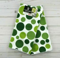 Ritz Royale Collection Microfiber Polka Dot Print Towel Set,