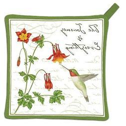 Alices Cottage AC21438 Hummingbird Potholder